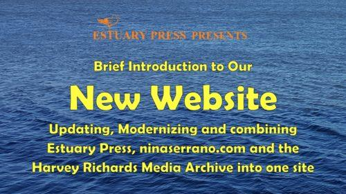 Estuary Press website intro graphic