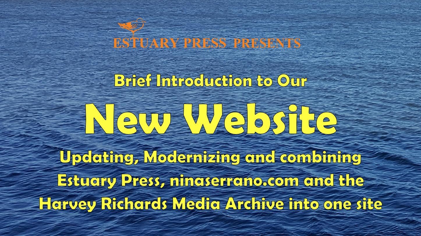 Estuary Press website intro graphic