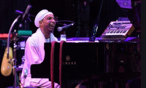 Omar at piano