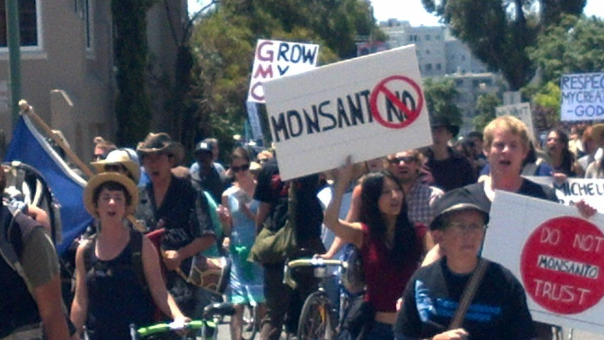 stop Monsanto march